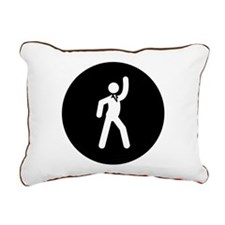 Disco Rectangular Canvas Pillow