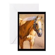 Palomino Horse Greeting Cards (Pk of 10)