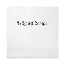 Villa del Campo, Aged, Queen Duvet