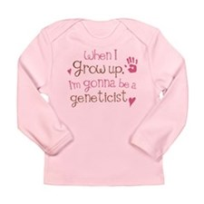 Future Geneticist Long Sleeve Infant T-Shirt