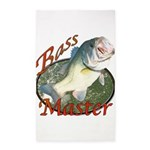 Bass master 3'x5' Area Rug