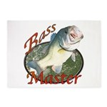 Bass master 5'x7'Area Rug