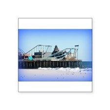 "Seaside Heights Forever Square Sticker 3"" x 3"""