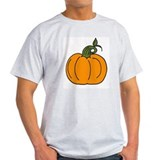 """pumpkin"" Ash Grey T-Shirt"