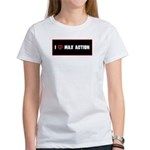 """I love Max Action"" 2-sided women's T"