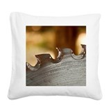Lumber yard Square Canvas Pillow
