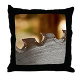 Lumber yard Throw Pillow