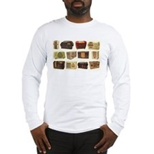 Old School Radio Long Sleeve T-Shirt