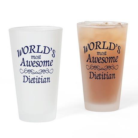 Dietitian Drinking Glass