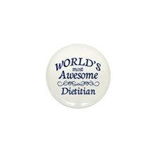 Dietitian Mini Button (10 pack)