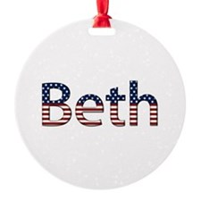Beth Stars and Stripes Ornament