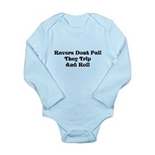 Ravers Trip Long Sleeve Infant Bodysuit