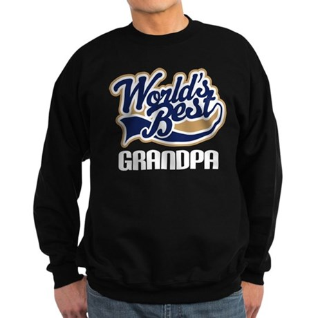 Grandpa (Worlds Best) Sweatshirt (dark)
