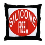 Silicone Free Throw Pillow