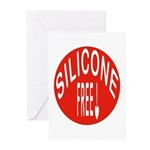 Silicone Free Greeting Cards (Pk of 10)