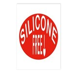 Silicone Free Postcards (Package of 8)