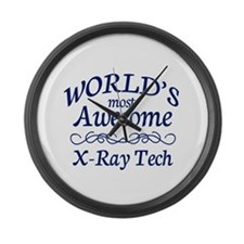 X-Ray Tech Large Wall Clock
