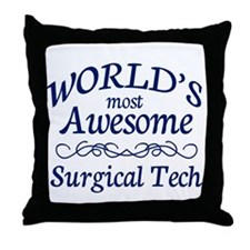 Surgical Tech Throw Pillow