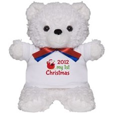 2012 First Christmas Teddy Bear