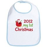 2012 First Christmas Bib