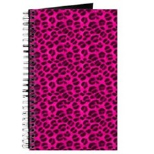 Pink Cheetah Print Journal