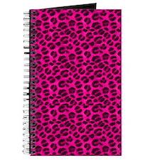 Pink Cheetah Print Journal