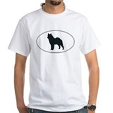 Norwegian Elkhound Silhouette Shirt