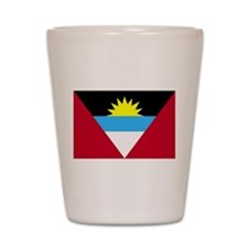 Flag of Antigua and Barbuda Shot Glass