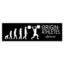 Origin Bumper Sticker, Black (Reg. $5)