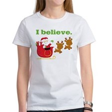 I Believe in Santa Tee
