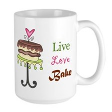 Live Love Bake Coffee Mug