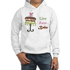 Live Love Bake Jumper Hoody