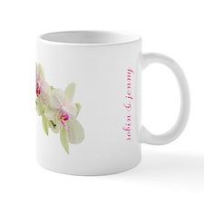 Personalised Orchid Mug