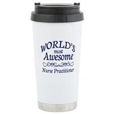 Nurse Practitioner Ceramic Travel Mug