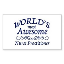 Nurse Practitioner Decal