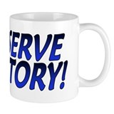 Deserve Victory Small Mug