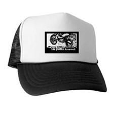 Adventure Bike Rectangle Trucker Hat