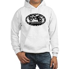 Adventure Bike Oval Hoodie