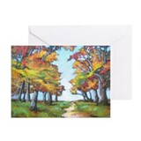 Autumn Path Greeting Cards (Pk of 10)