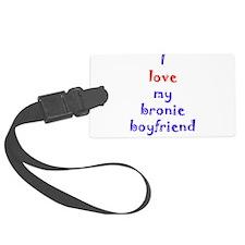 Bronie Boyfriend Large Luggage Tag