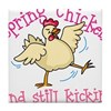Spring Chicken Tile Coaster