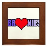 Bronie Love Framed Tile
