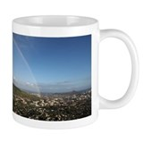 Rainbow over Manoa and Diamond Head Coffee Mug