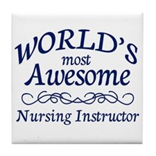 Nursing Instructor Tile Coaster