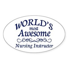 Nursing Instructor Decal