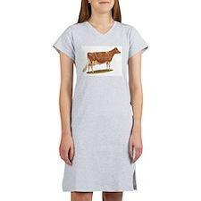 Unique Dairy cow Women's Nightshirt