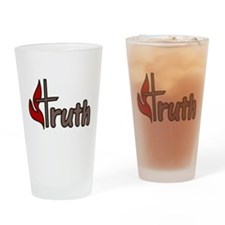 Truth Drinking Glass