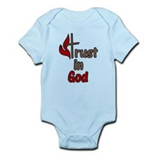 Trust In God Infant Bodysuit