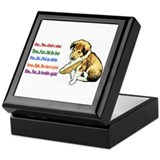 Collie Puppy / Nursery Rhyme Keepsake Box