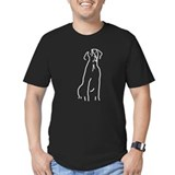 Good Dog GSP Men's Fitted T-Shirt (black)